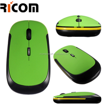 Cheap slim 2.4G receiver Customized computer mouse wireless