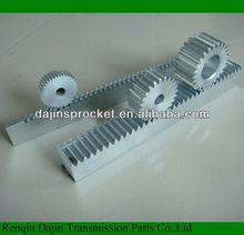 C45S new type rack and pinion price/small rack and pinion gears/ gear rack for sliding gate