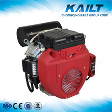 Stable and long life two cylinder gasoline engine, 20hp gasoline engine for sale