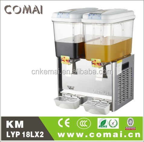 2015 double juice dispenser,drink beverage dispenser,juice machine