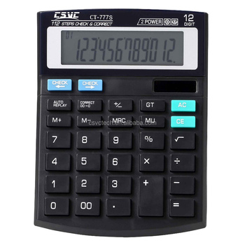 CSVC Factory OEM High Quality Check / Correct Function Calculator CT-777S