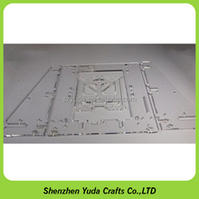 laser machining clear acrylic perspex laser cutting project