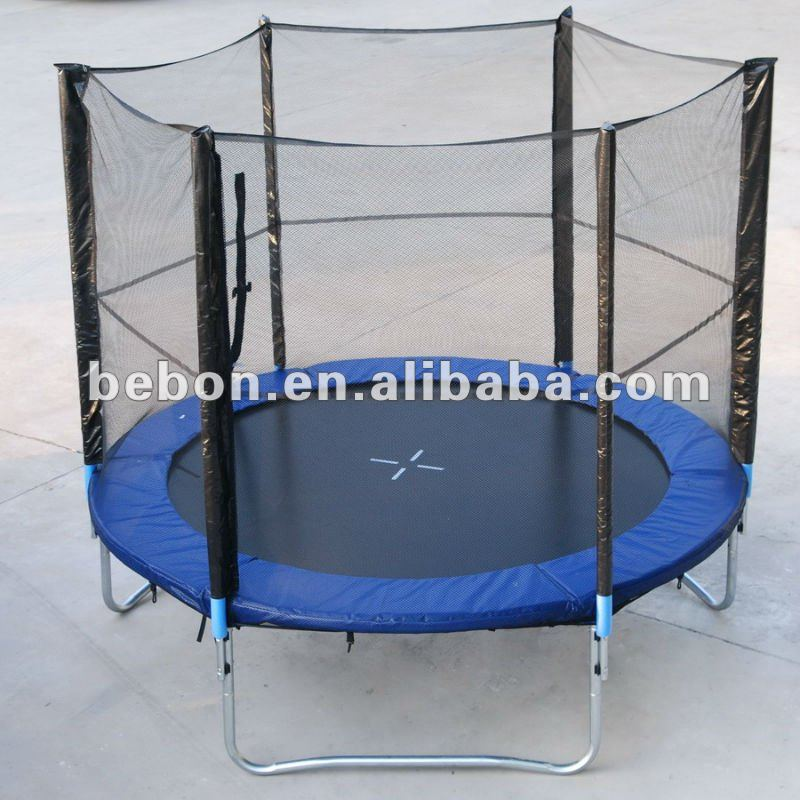 10FT(305cm) TUV-GS Trampoline with enclosure and ladder