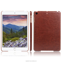 Luxury leather back cover for ipad mini 3