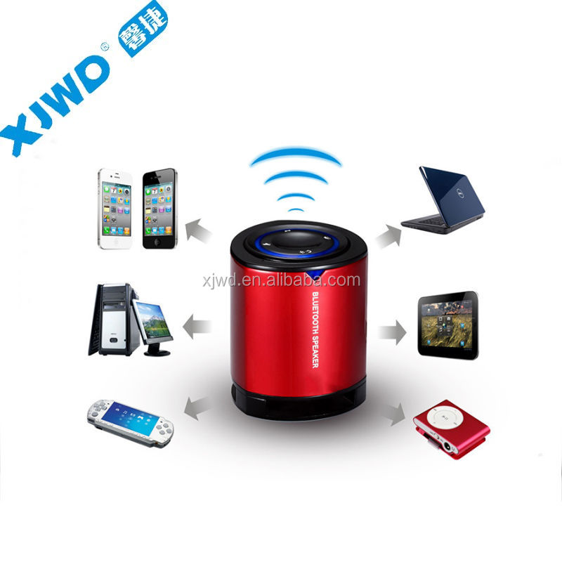 Newest speaker bluetooth stero music play back hands free and track control