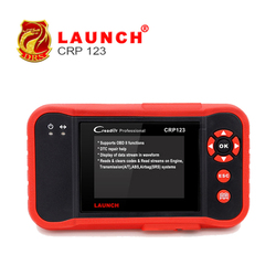 Wholesale Launch X431 CRP123 Same as Creader VII+ Support 4 Systems of Engine&Transmission&ABS&Airbag