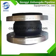 Factory direct single sphere connector din flange standard expansion flexible rubber joint carbon steel connection