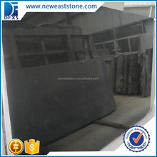 Cheap granite fireplace hearth slab absolute shanxi black granite slab