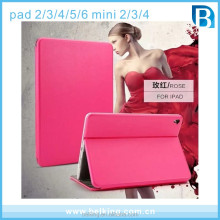 High Quality Stand Leather Case For Ipad Mini 2 3 4 Tablet PU Leather Case