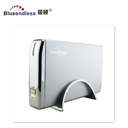 3.5 USB3.0 hdd external custom aluminum hdd enclosure Support up to 6tb
