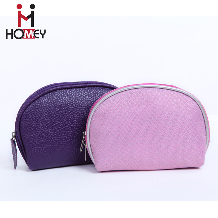 2016 latest design oem custom leather makeup bags pu small cosmetic bag personalized