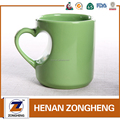 11oz Heart Handle red color sublimation mugs