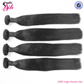 10A grade straight brazilian human hair sew in weave