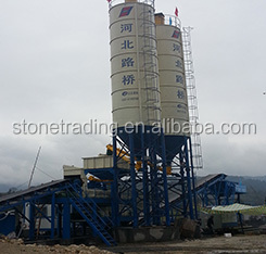 Low Cost and Reliable HZS40 Concrete Batching Plant