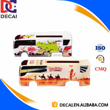 Heat Transfer Printing Film for ABS Plastic Toy Bus Car Shell