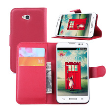 Wallet stand holder shockproof phone case for LG L70