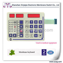 membrane keypad PC material and embossing button