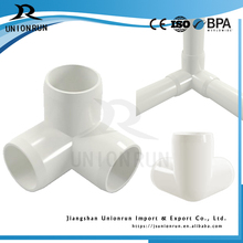 Manufacturing Plastic Pvc 3 Way Elbow Fittings for Furniture