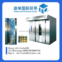 HYRXL-100 type hot air rotary oven, rotary pizza cone oven,food production line /hot air circulation /rotary oven