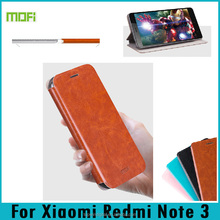 Mofi Xinrui Series Stand Flip PU Leather Case Cover For Xiaomi Redmi Note 3