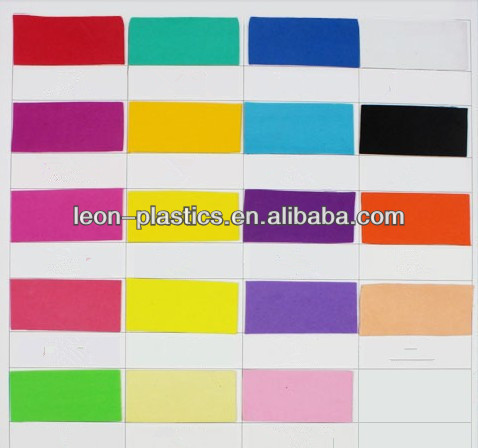 colorful high quality eva foam eva sheet