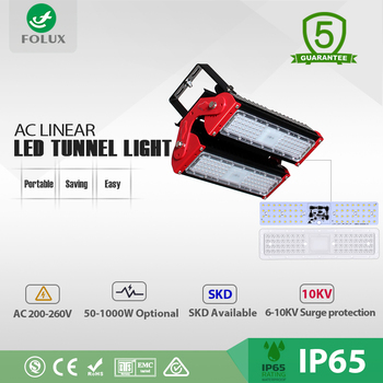 Wholesale outdoor driverless AC Linear LED tunnel light 100w