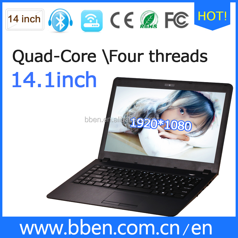 Laptop price china!!! Intel Core Type 4G/32 for 14inch ultrabook Mechanical hard disk 1T china laptop