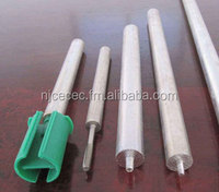 Extrusion cast magnesium anode rod