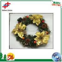 Artificial Decorative Wholesale PVC Christmas Wreaths