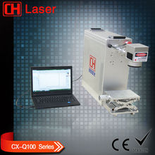 10W 20W metal Laser Marking Machine for keychain