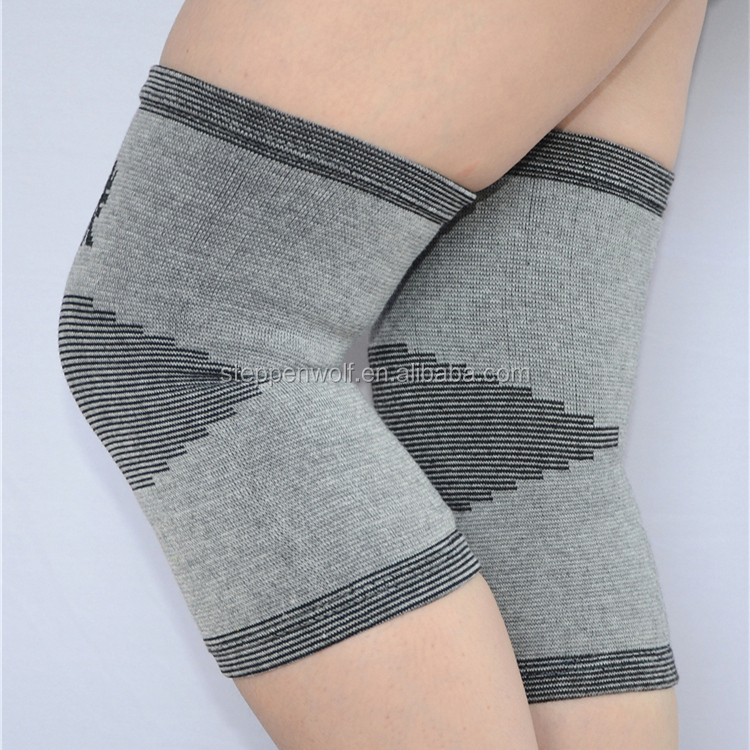 Wholesale knee support circular knitting machine breathable elbow & knee pads elastic knee pads for work