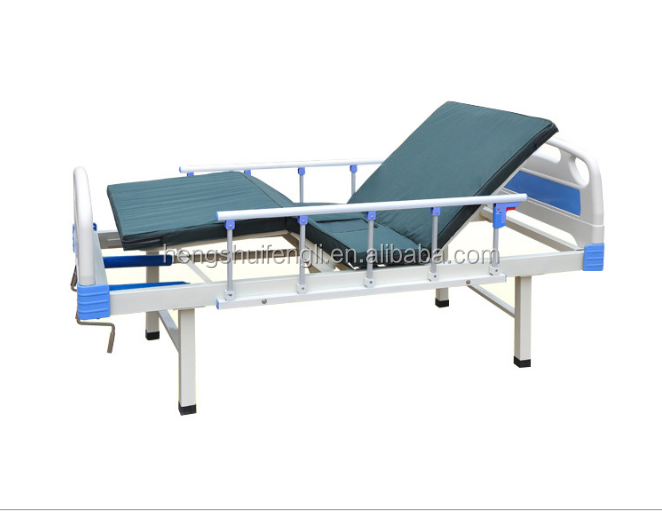 simple 2 cranks manual medical bed in hospital bed price ward room bed
