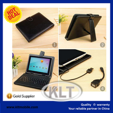 Built-In Keyboard leather case for ipad mini air Luxury Flip Wallet