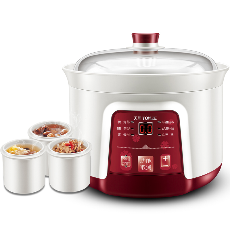 Electric Ceramic multi cooker Slow Cooker for beef stew meat recipes