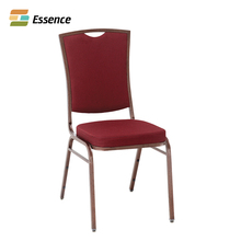 Attractive Appearance Fabric Stacking Iron Banquet Chairs