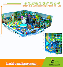 Attractive indoor playground family fun for kids metal playground equipment