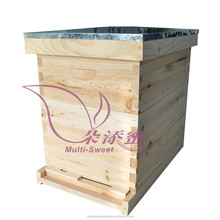 8 Frames Langstroth Bee hive Two Layer Hive with Full Hive Frame