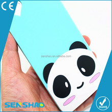 Cheap panda silicone Case For iphone 6plus Case Colorful for mobile phone oem