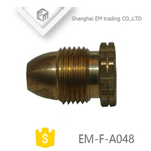 EM-F-A048 Quick connector copper pipe brass fitting plug for hose