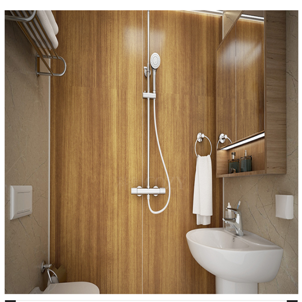 Hotel use prefabricated modular bathroom design wc toilet shower POD