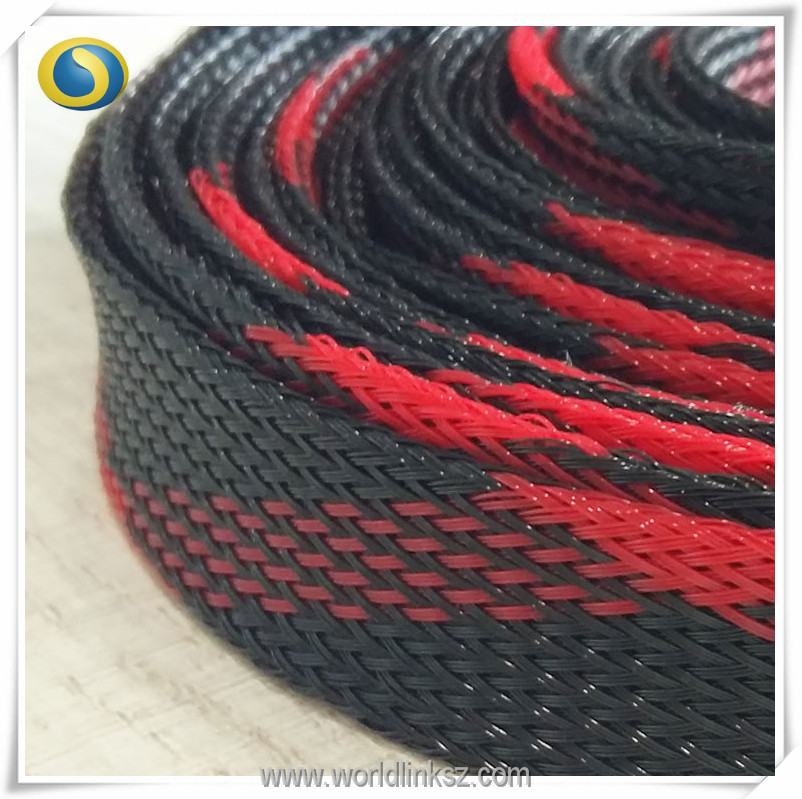Flame retardant UL nonflammable PET expandable sleeving