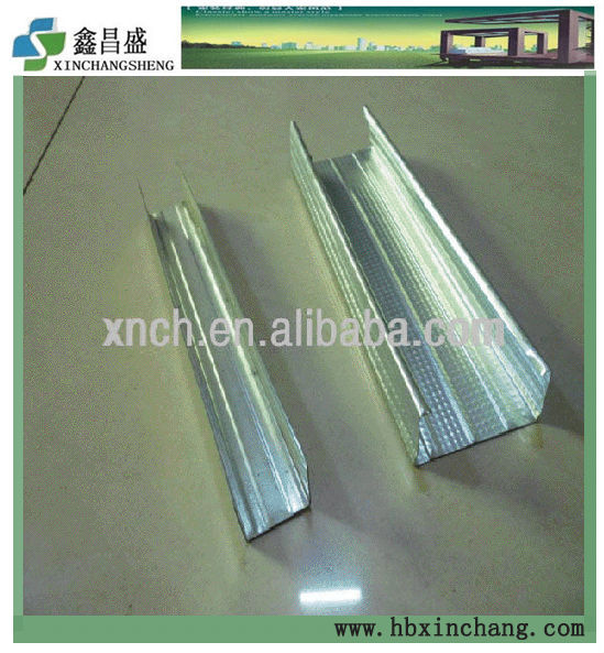 high quality low price galvanized steel C channel used in ceiling grid system