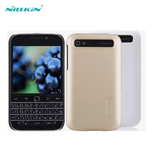 Nillkin Original Hard Pc Back Cover Case For Blackberry Z10 Z3 Classic Q20 Q10 Q5 Passport Silver Edition