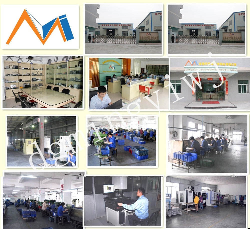 Chinese Gold Magnesium Alloy Die Casting with Passivation from Hot Alibaba Website