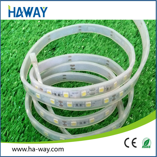 high quality DC 12V 5050 IP67 programmable led strip