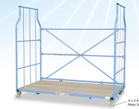 3 Sided A frame Roll Cage Tube,foldable roll container