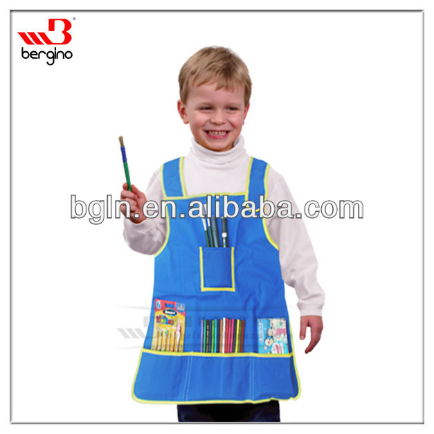 Children's Artists Aprons With Pockets