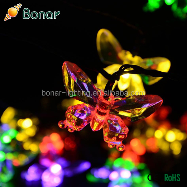 Solar Valentine Decoration Light for Christmas Garden Decorative String Light
