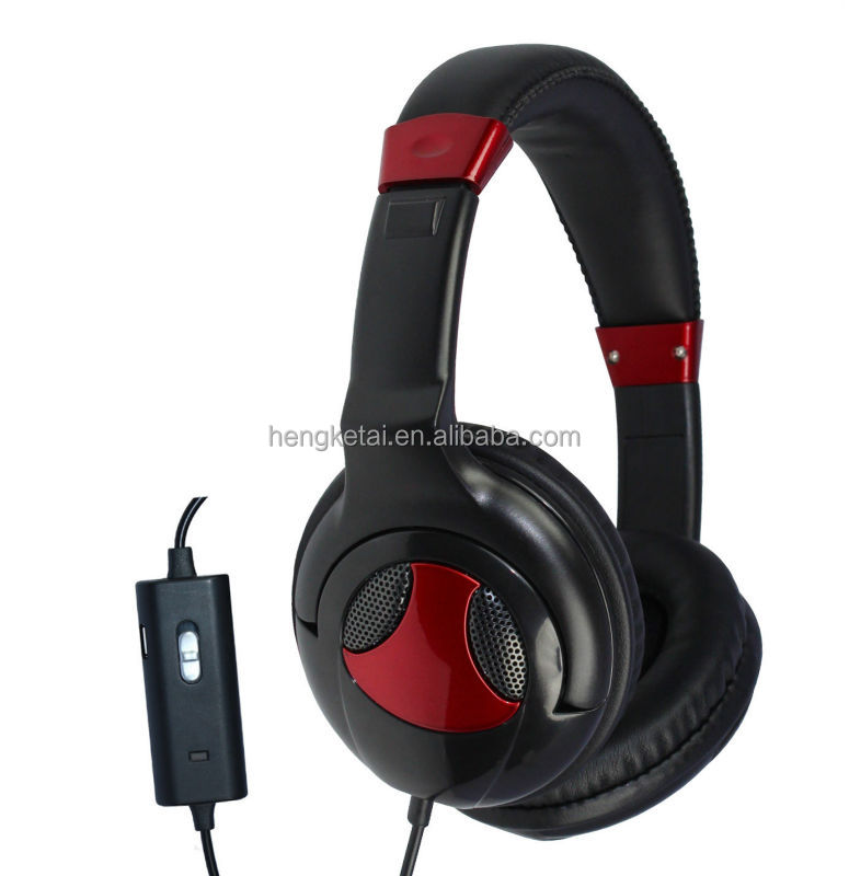 active noise cancelling headphone with microphone and gift box packing