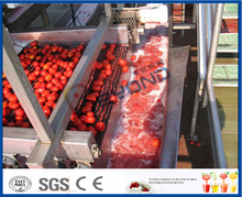 complete set of tomato processing line